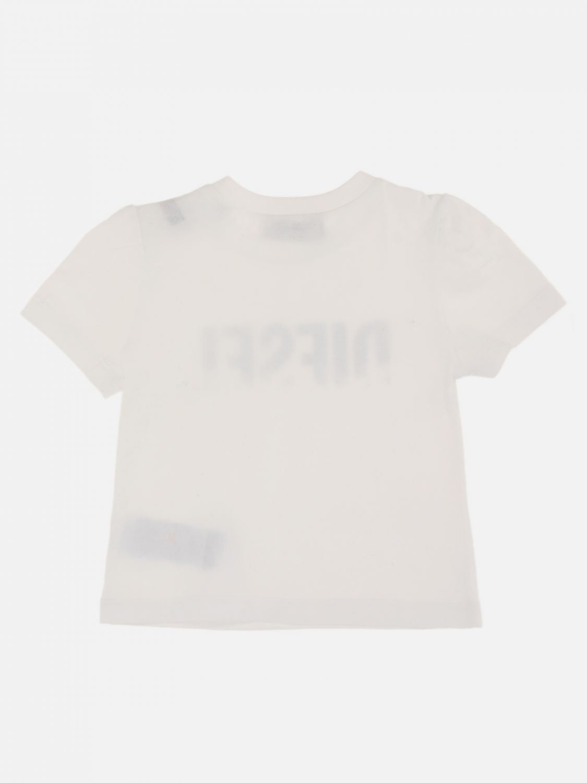 T-shirt Diesel: T-shirt Diesel con logo a contrasto bianco 2