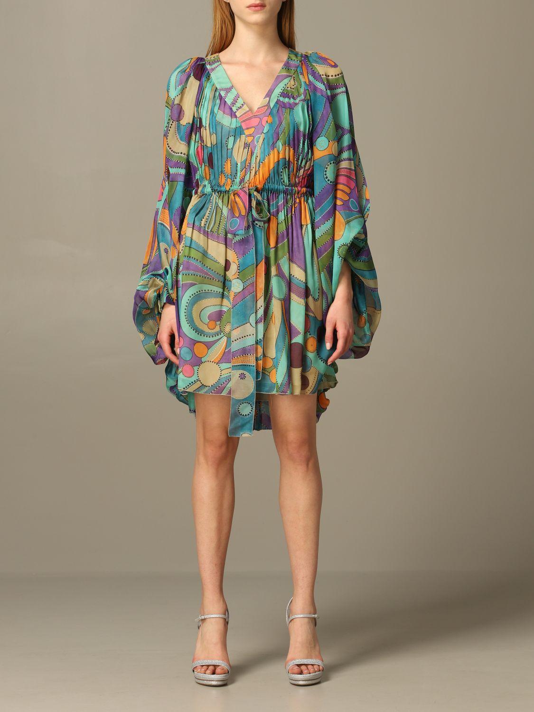 Dress Alberta Ferretti: Dress women Alberta Ferretti multicolor 1