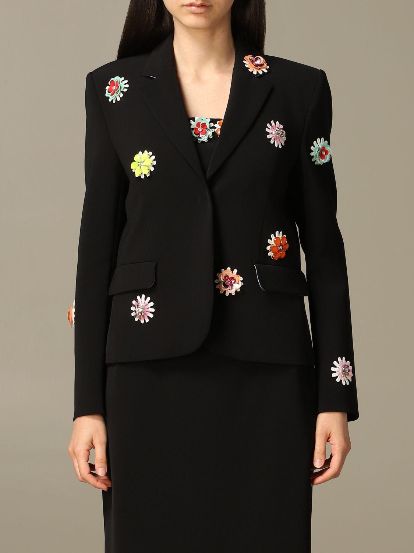 Blazer women Boutique Moschino black 1