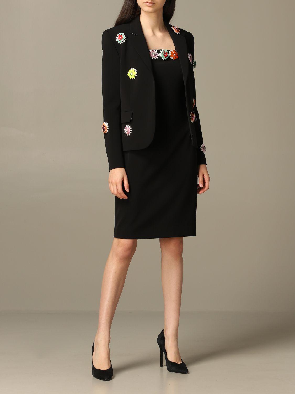 Blazer women Boutique Moschino black 2