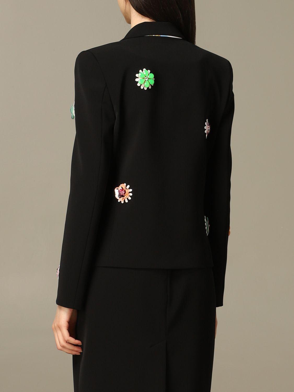 Blazer women Boutique Moschino black 3