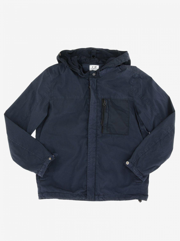 Abrigo niños C.p. Company azul oscuro 1