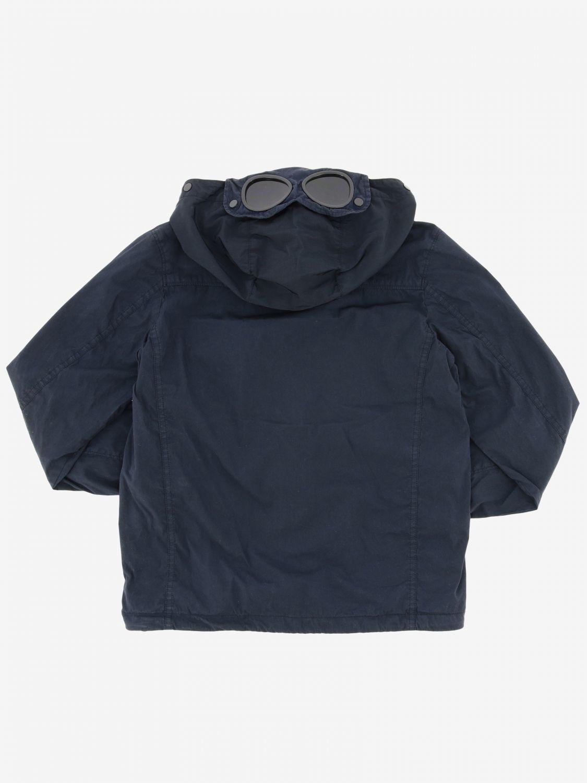 Abrigo niños C.p. Company azul oscuro 2