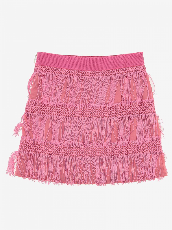 Skirt kids Alberta Ferretti Junior pink 2