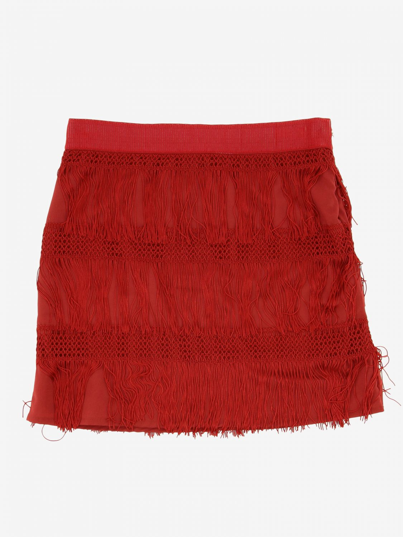 半身裙 Alberta Ferretti Junior: 半身裙 儿童 Alberta Ferretti Junior 红色 1