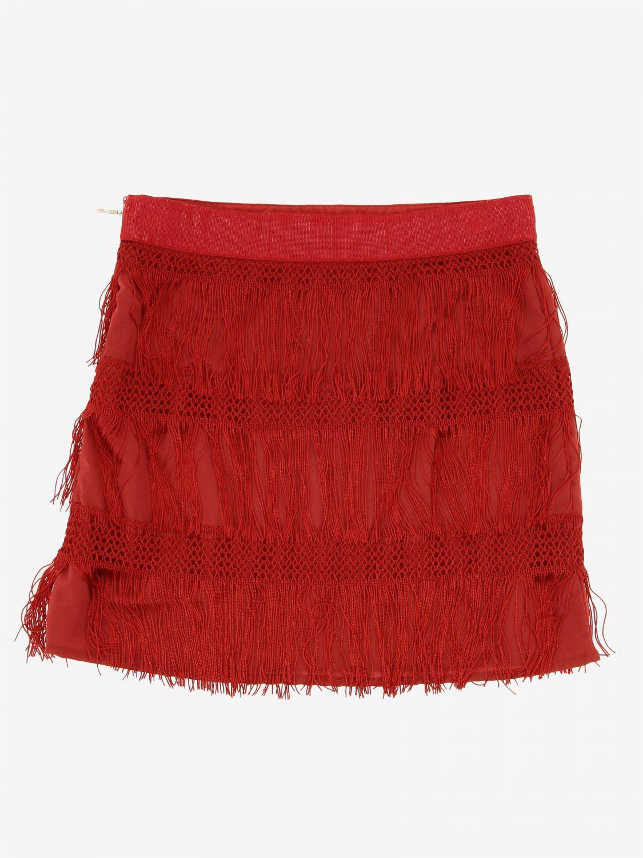 半身裙 Alberta Ferretti Junior: 半身裙 儿童 Alberta Ferretti Junior 红色 2