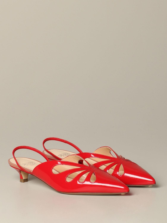 鞋 女士 Francesco Russo 红色 2