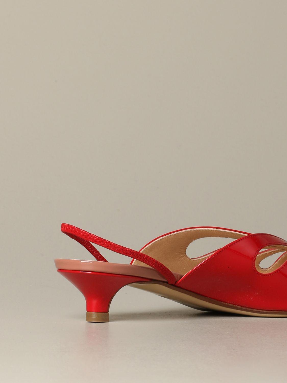 鞋 女士 Francesco Russo 红色 3