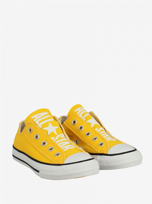 converse jaune enfant 33
