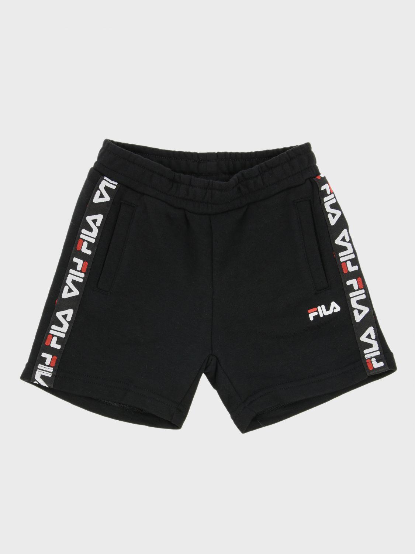 Fila jogging shorts with logoed bands
