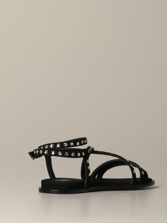 Обувь без каблука Женское Liu Jo черный 3