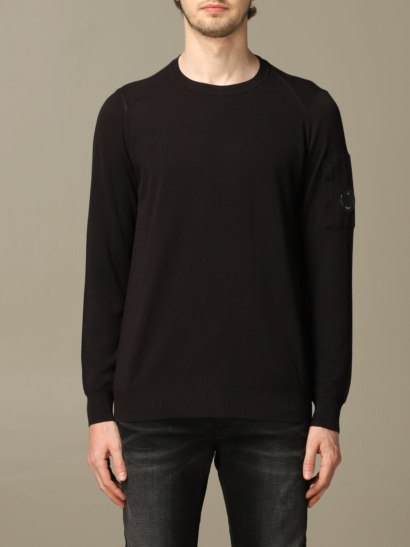 Sweater C.p. Company: C.p. Company crew-neck jersey black 1