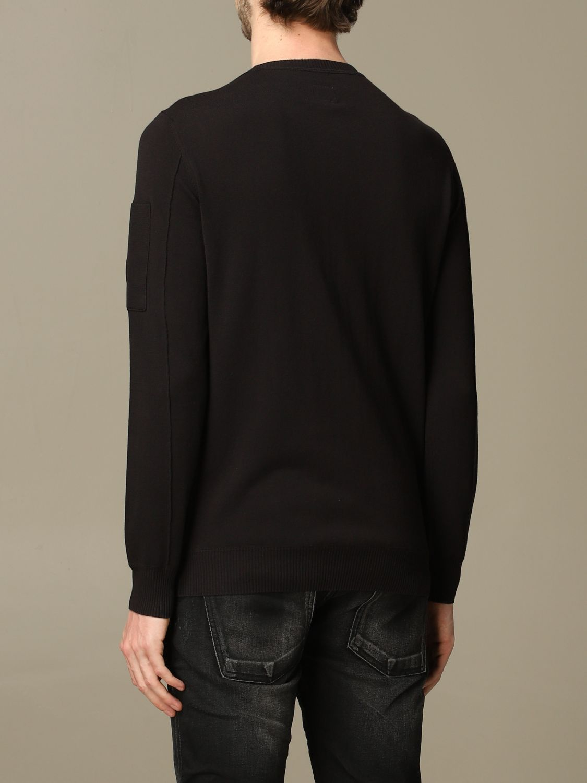 Sweater C.p. Company: C.p. Company crew-neck jersey black 2