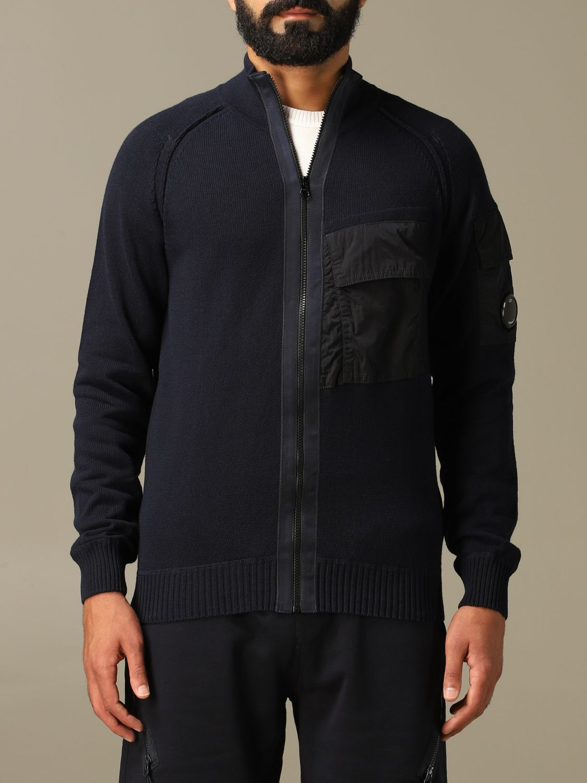 Pullover C.p. Company: Pullover herren C.p. Company navy 1
