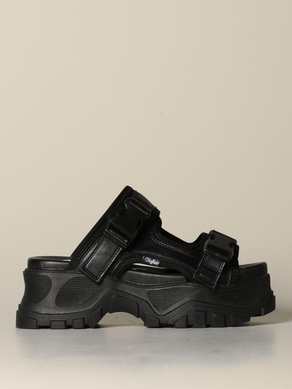 Sneakers Buffalo: Shoes women Buffalo black 1