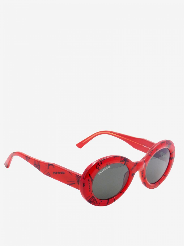 Glasses Balenciaga: Glasses women Balenciaga red 1