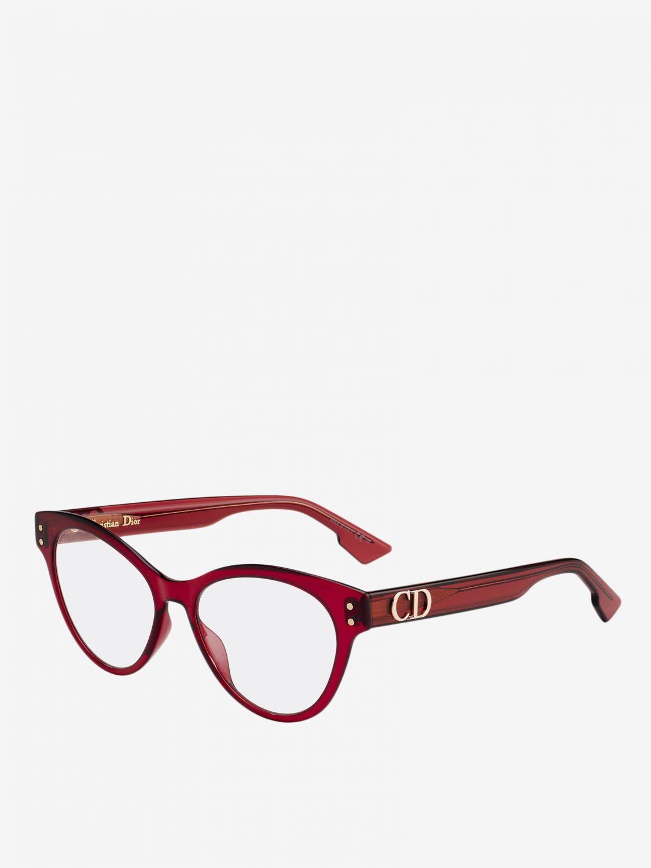 Glasses Christian Dior: Glasses women Christian Dior burgundy 1