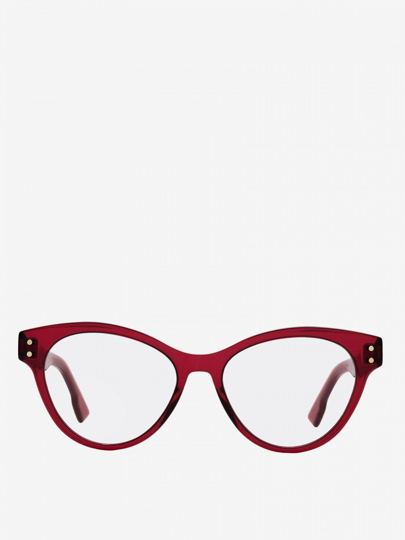 Glasses Christian Dior: Glasses women Christian Dior burgundy 2