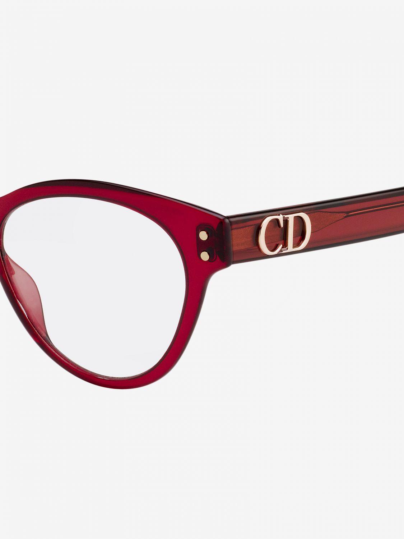 Glasses Christian Dior: Glasses women Christian Dior burgundy 3
