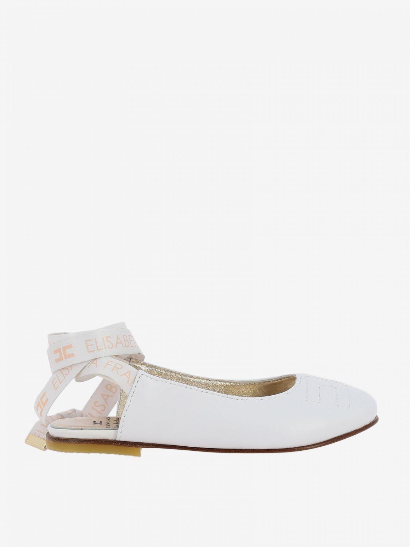 Shoes kids Elisabetta Franchi white 1