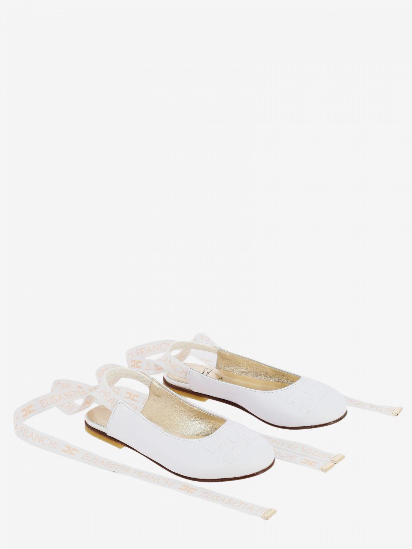 Shoes kids Elisabetta Franchi white 2