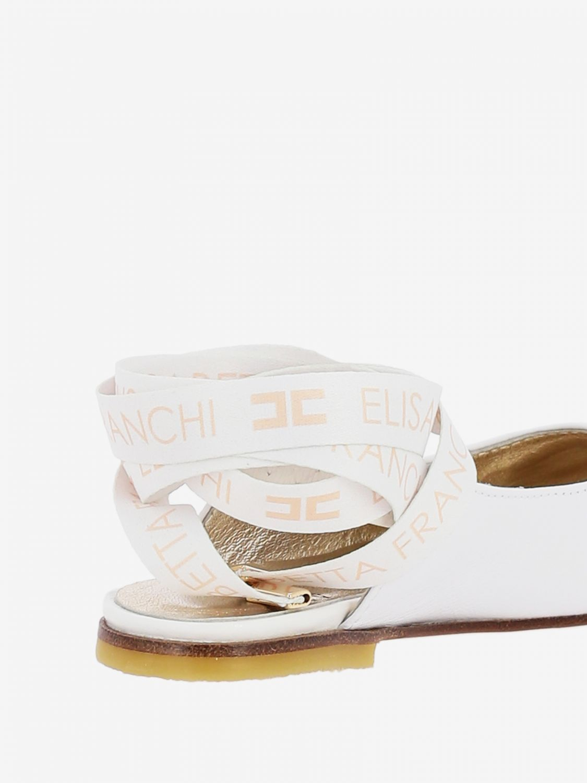 Shoes kids Elisabetta Franchi white 3