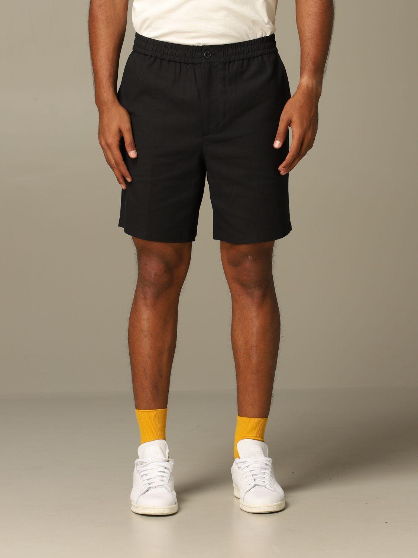 Short Ami Alexandre Mattiussi: Ami Alexandre Mattiussi shorts with drawstring black 1
