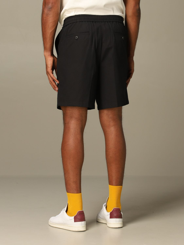 Short Ami Alexandre Mattiussi: Ami Alexandre Mattiussi shorts with drawstring black 2