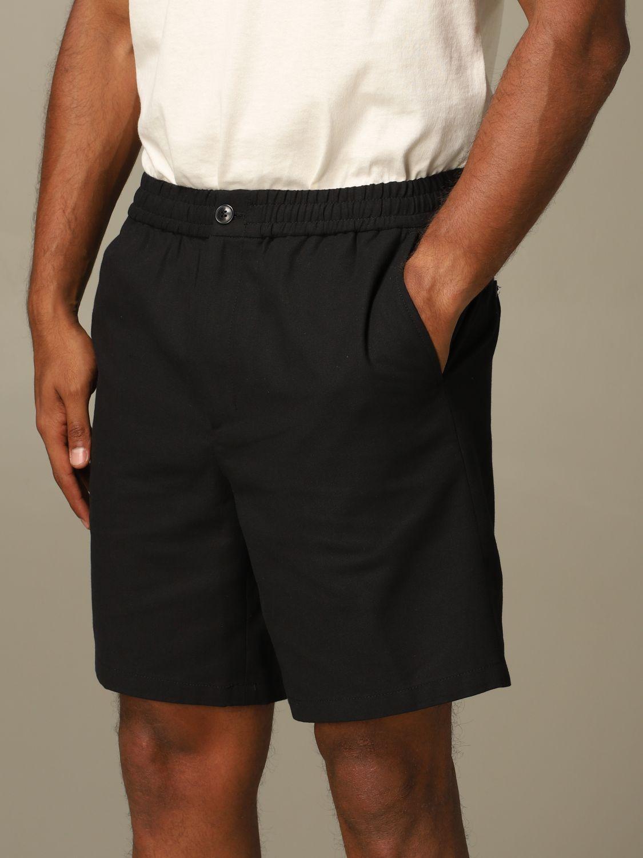 Short Ami Alexandre Mattiussi: Ami Alexandre Mattiussi shorts with drawstring black 3