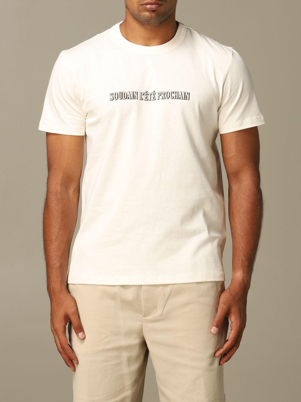 T-Shirt Ami Alexandre Mattiussi: T-shirt herren Ami Alexandre Mattiussi weiß 1