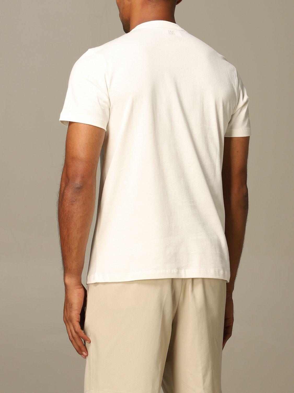 T-Shirt Ami Alexandre Mattiussi: T-shirt herren Ami Alexandre Mattiussi weiß 2