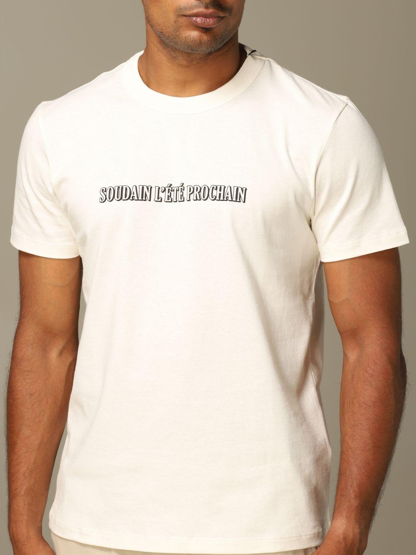 T-Shirt Ami Alexandre Mattiussi: T-shirt herren Ami Alexandre Mattiussi weiß 3