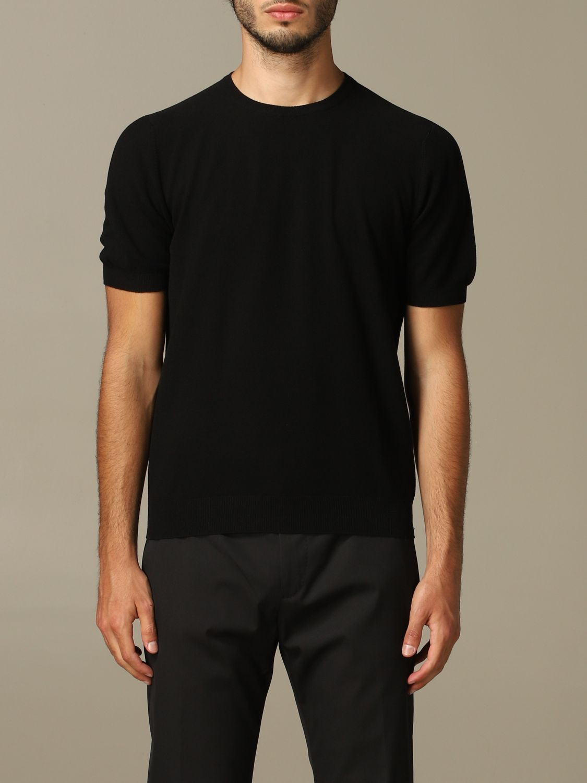 Pullover herren Tagliatore schwarz 1