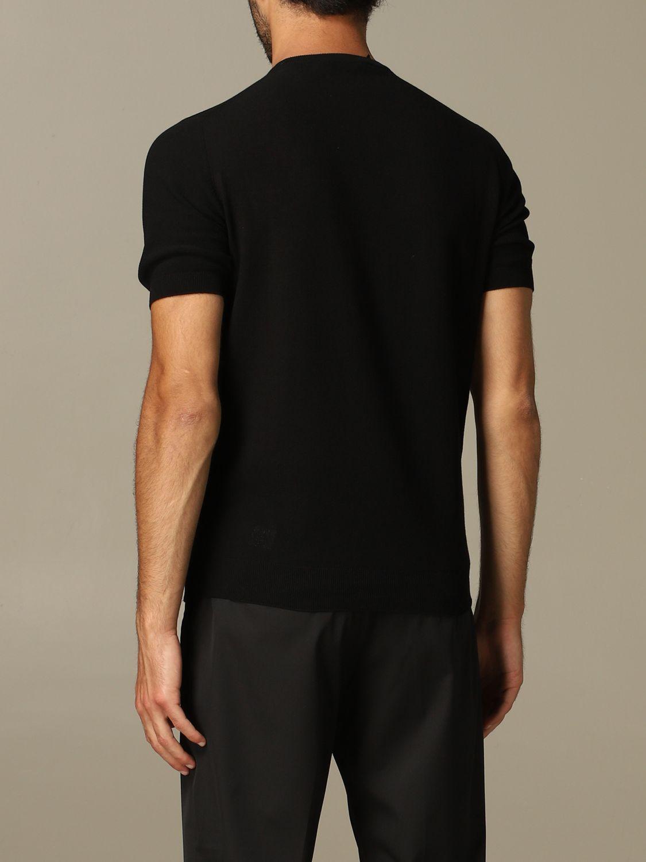 Pullover herren Tagliatore schwarz 2