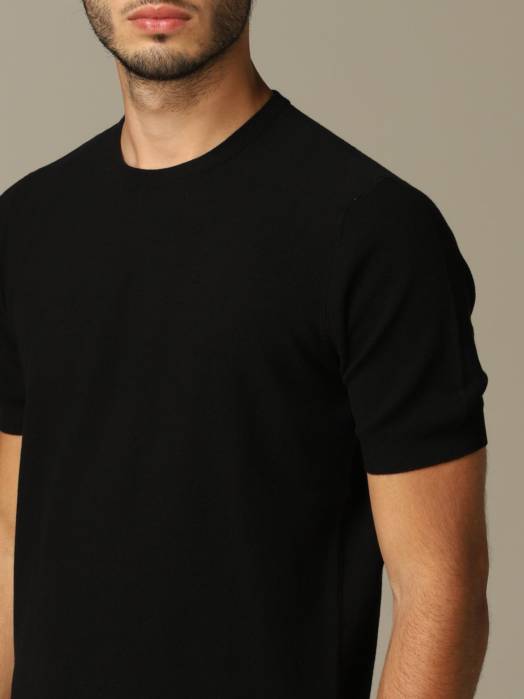 Pullover herren Tagliatore schwarz 3