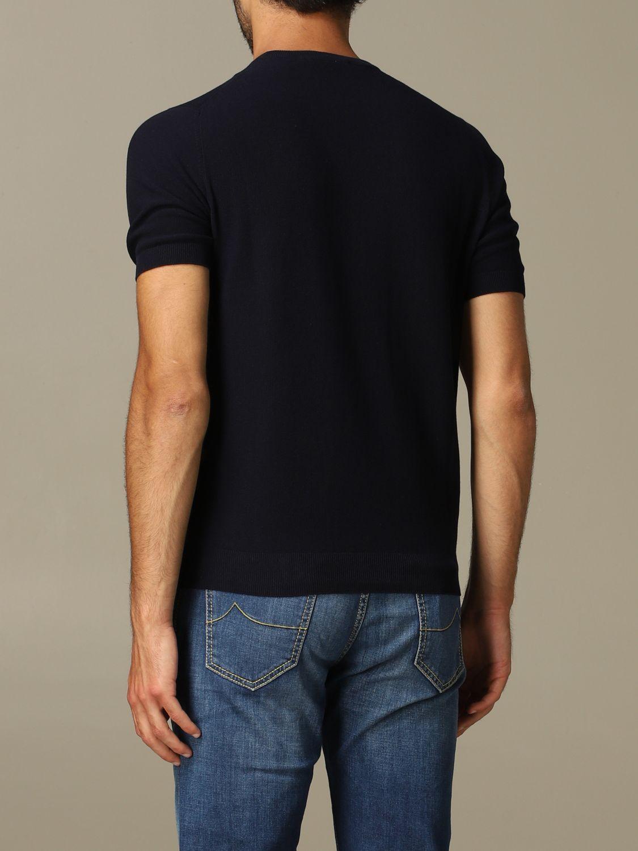 Pullover herren Tagliatore blau 2