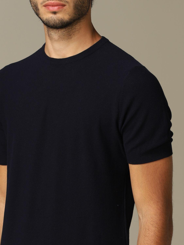 Pullover herren Tagliatore blau 3