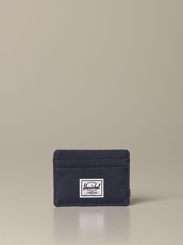 Portefeuille homme Herschel Supply Co. bleu marine 1