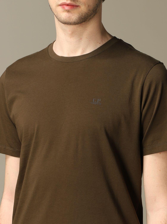 T-shirt C.p. Company: T-shirt men C.p. Company green 3