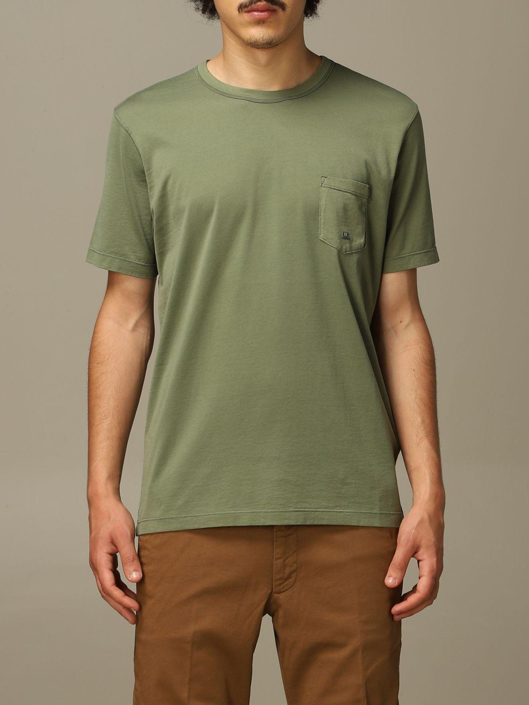 T-Shirt C.p. Company: T-shirt herren C.p. Company grün 1