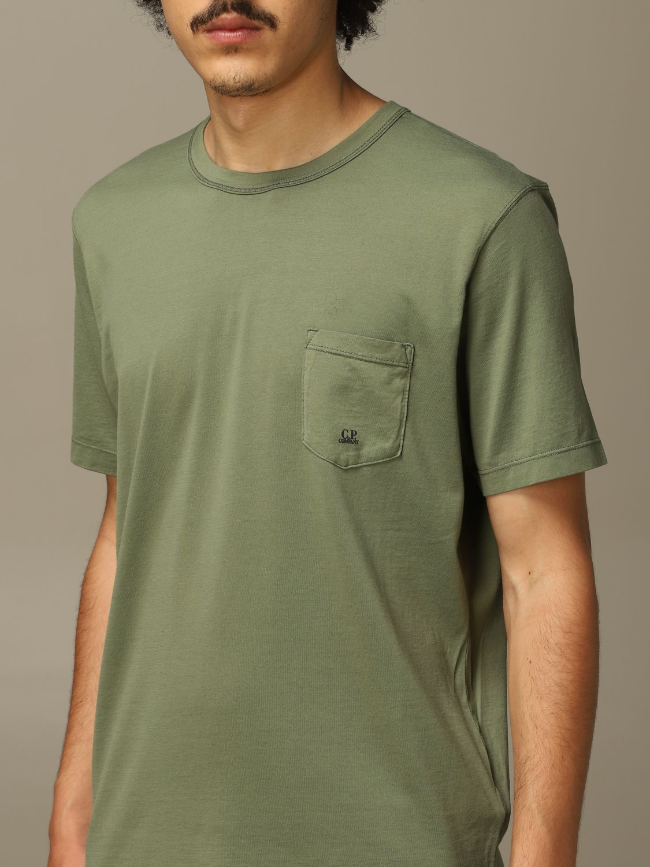 T-Shirt C.p. Company: T-shirt herren C.p. Company grün 3