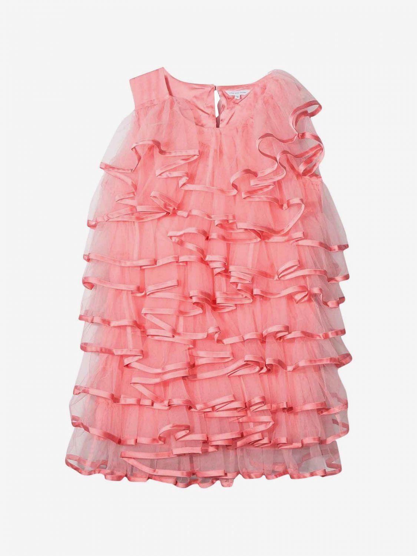 Dress kids Little Marc Jacobs raspberry 1