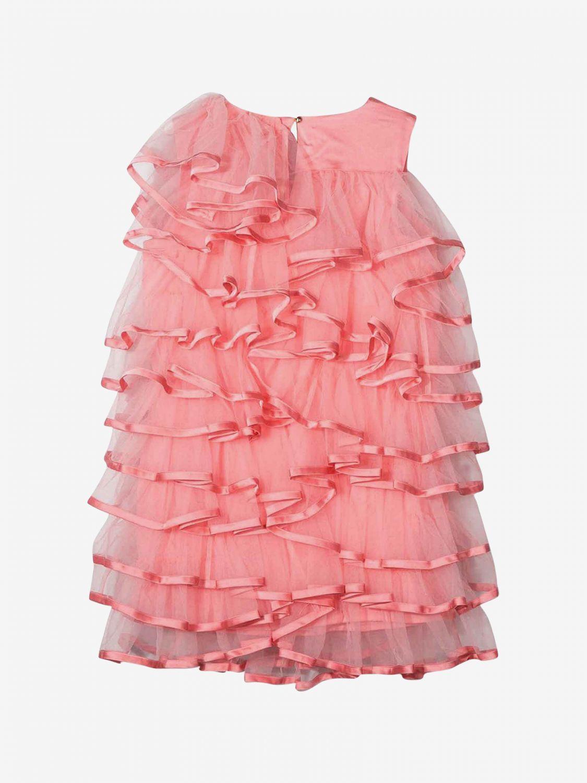 Dress kids Little Marc Jacobs raspberry 2