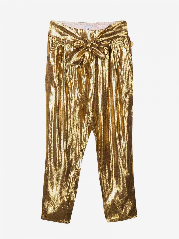 Little Marc Jacobs laminierte Hose gold 1