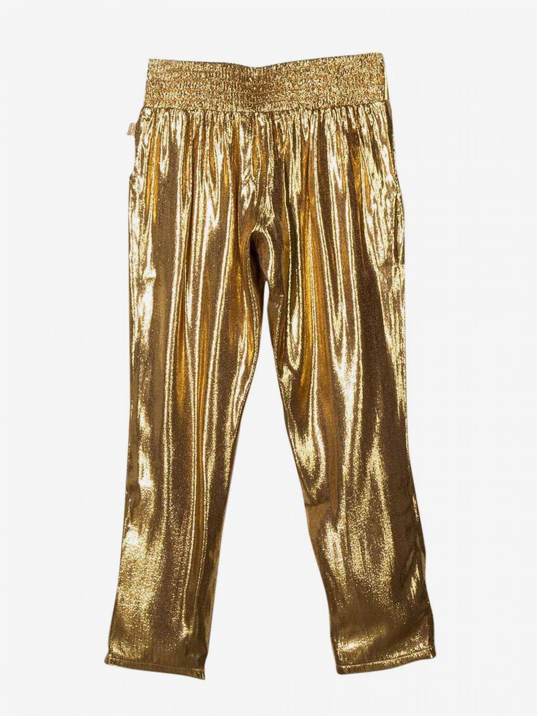 Little Marc Jacobs laminierte Hose gold 2
