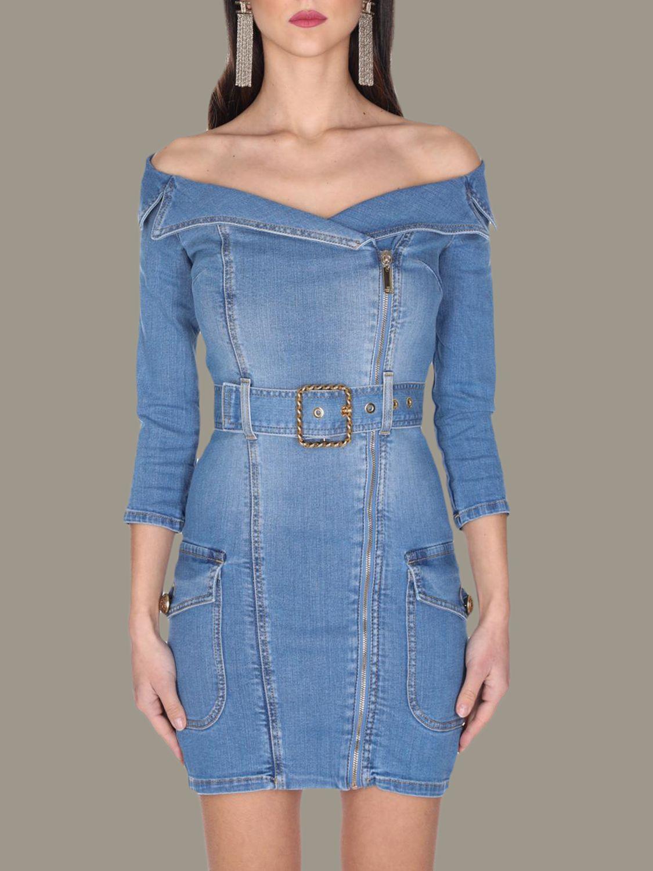 Платье Женское Elisabetta Franchi синий 1