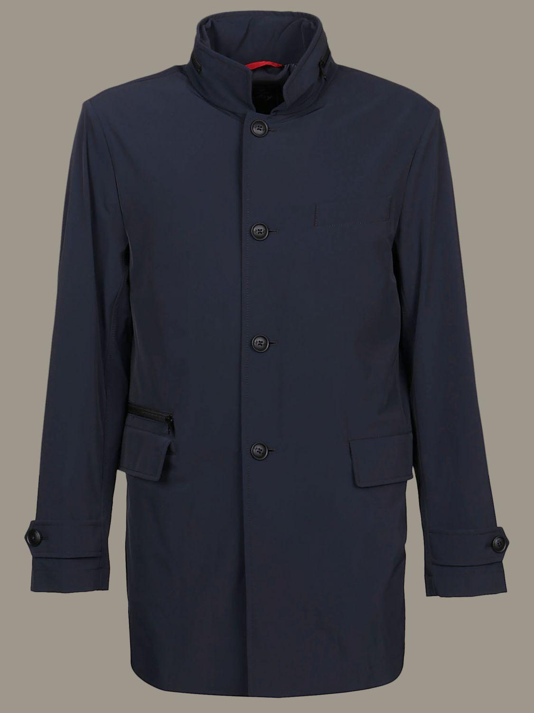 Manteau Fay à boutonnage simple