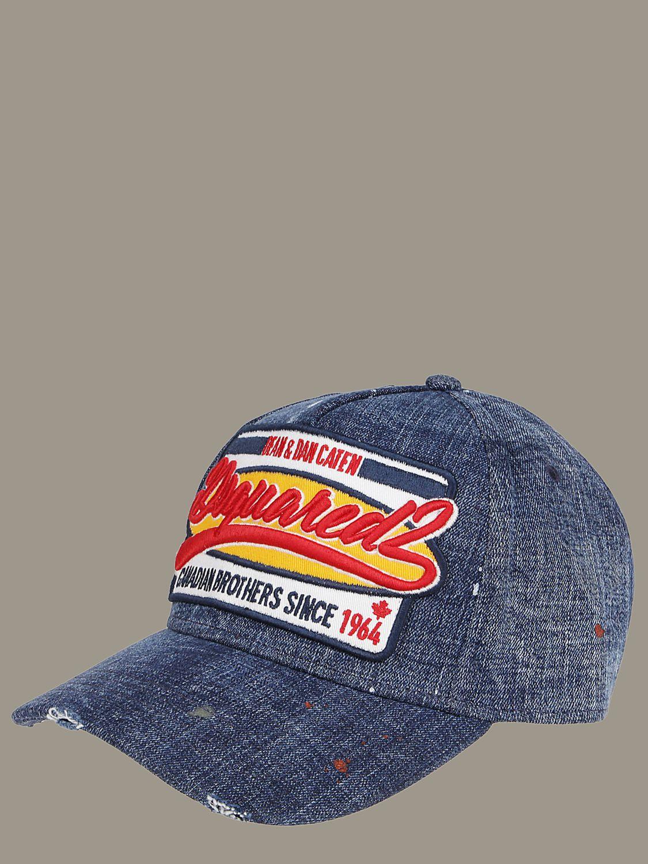 Hat men Dsquared2 blue 1