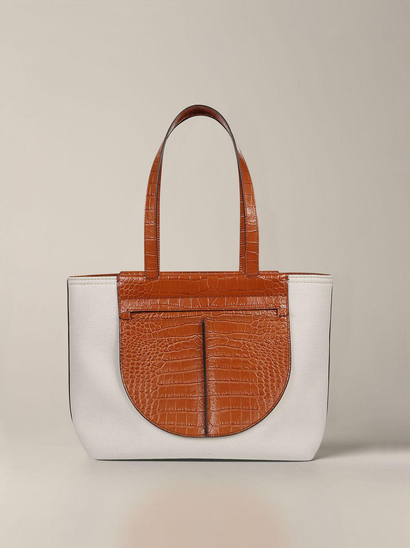 Наплечная сумка Tods: Наплечная сумка Женское Tod's белый 1