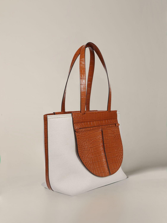 Наплечная сумка Tods: Наплечная сумка Женское Tod's белый 3
